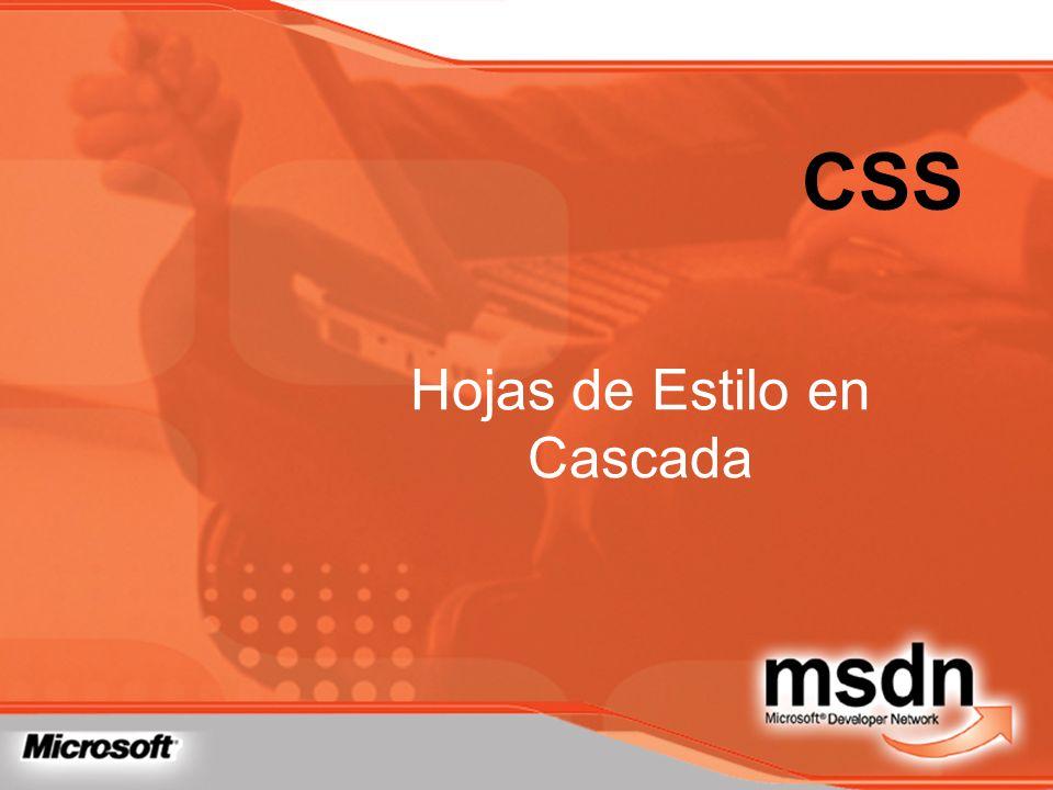 CSS Hojas de Estilo en Cascada