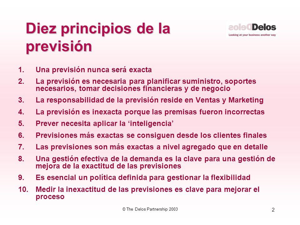 3 © The Delos Partnership 2003 3.