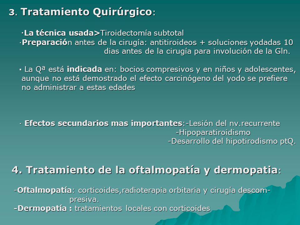 3.Tratamiento Quirúrgico : 3.