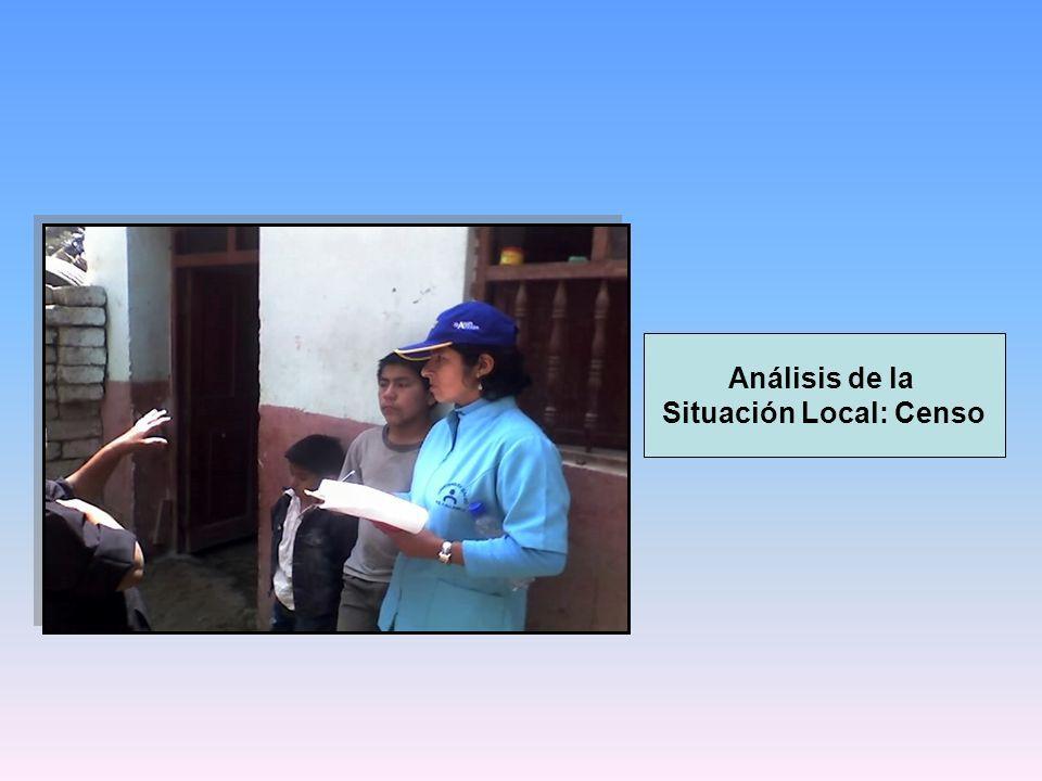 Análisis de la Situación Local: Censo