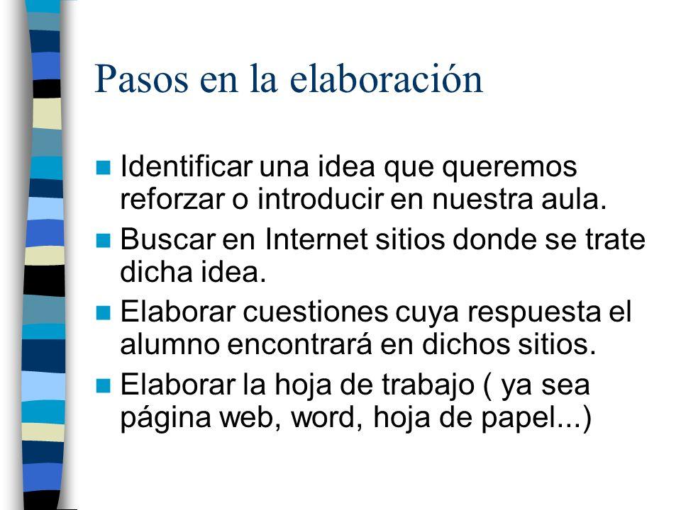 Estructura I Introducción: donde se da una información inicial de la actividad, describiendo la tarea.