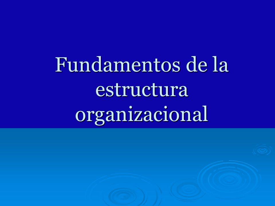 Horizontal: Coordinación, aprendizaje, Innovación, flexibilidad Vertical: Control, eficiencia, Estabilidad, confiabilidad Estructura funcional Funcional con equipos Transfuncionales, integradores Estructura divisional Estructura matricial Estructura horizontal Estructura de red virtual Enfoque estructural dominante Relación de la estructura con respecto a la necesidad organizacional de eficiencia con la necesidad de aprendizaje.