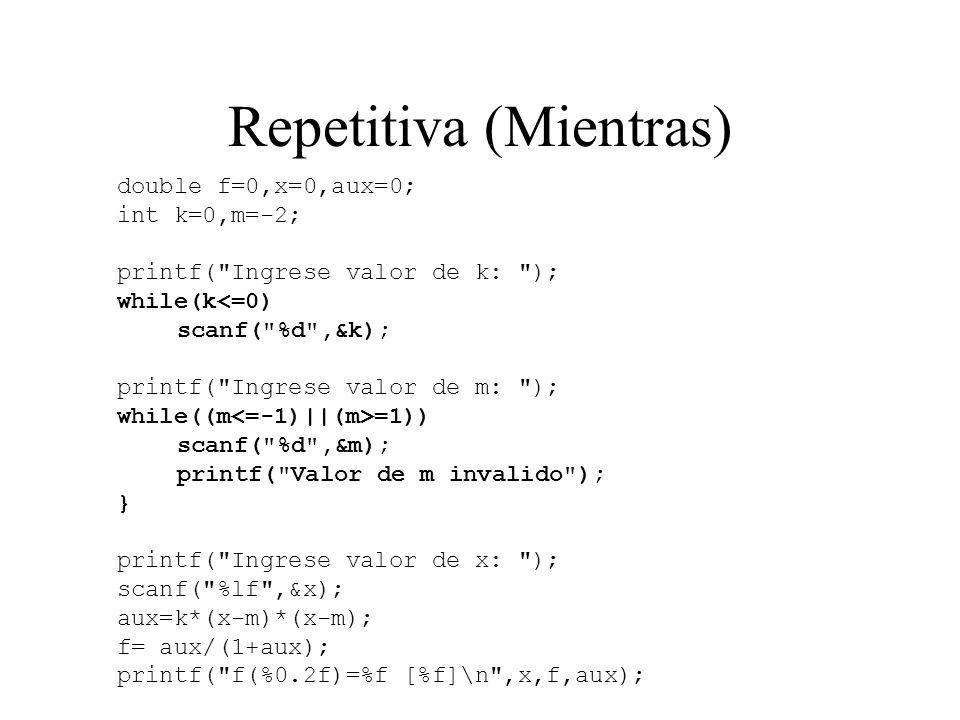 Repetitiva (Hasta que) C 2 1 3 si no 1 3 2 C