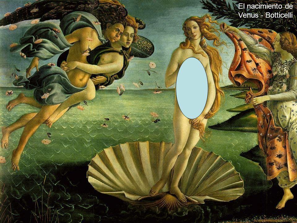 Siglo de Oro CRS 2004 El nacimiento de Venus - Botticelli
