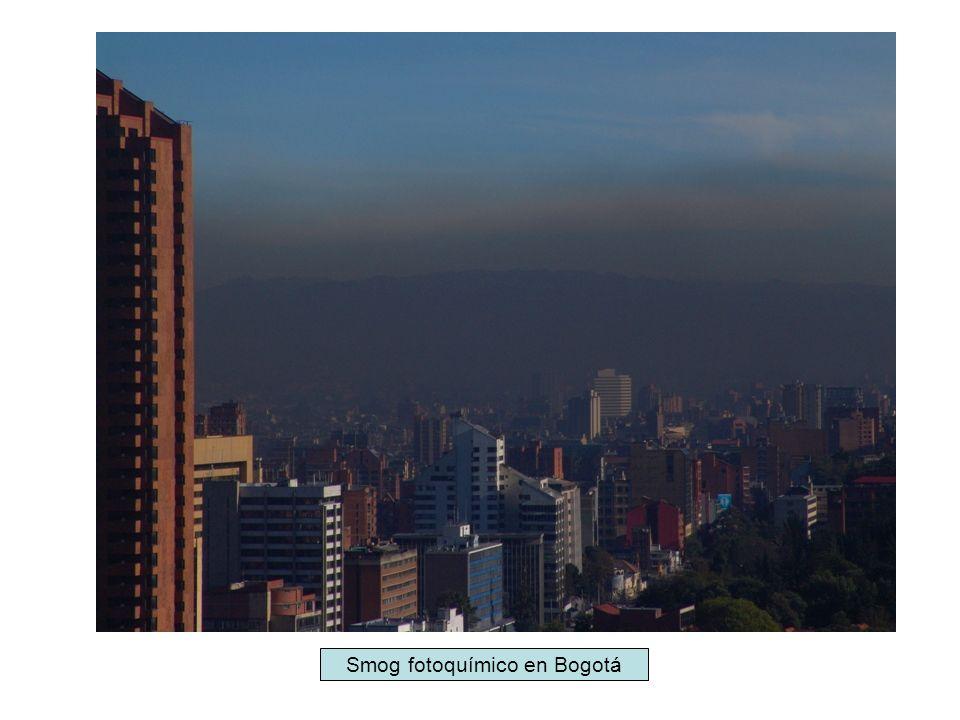 1.Ozono troposférico (O 3 ).Gas azul pálido, irritante y picante.