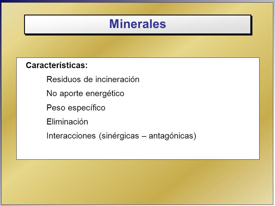 Los elementos minerales son nutrientes esenciales e influyen sobre la eficiencia productiva del ganado.