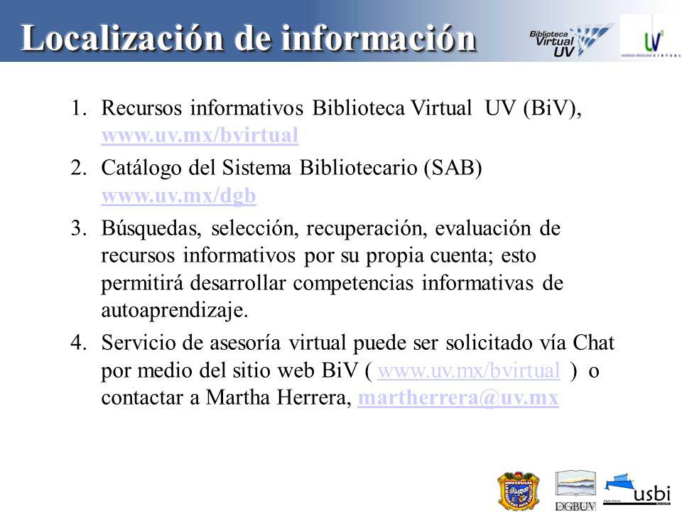1.Preferir documentos en formato electrónico.2.Privilegiar materiales en español.