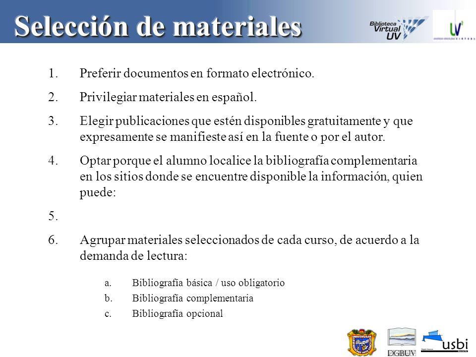 6.Preferir que los docentes sean los propietarios/autores de sus textos, para lo cual existen algunas opciones como las siguientes: a.