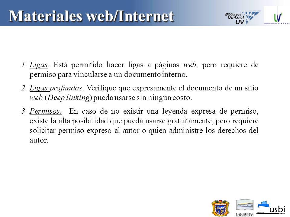 Materiales web/Internet 1.No desista.