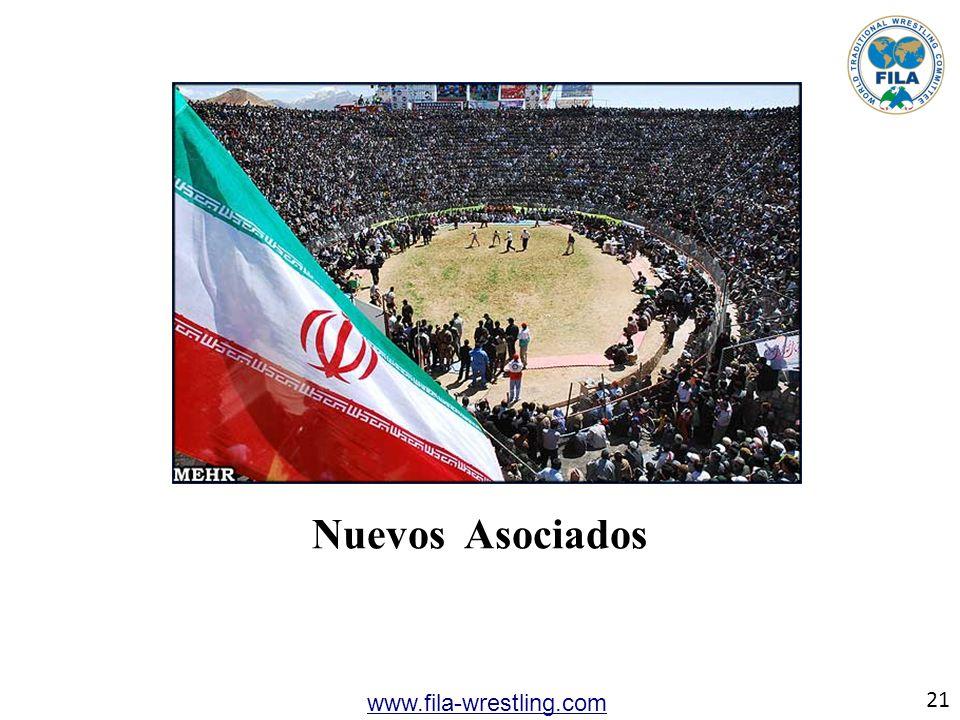 21 www.fila-wrestling.com Nuevos Asociados