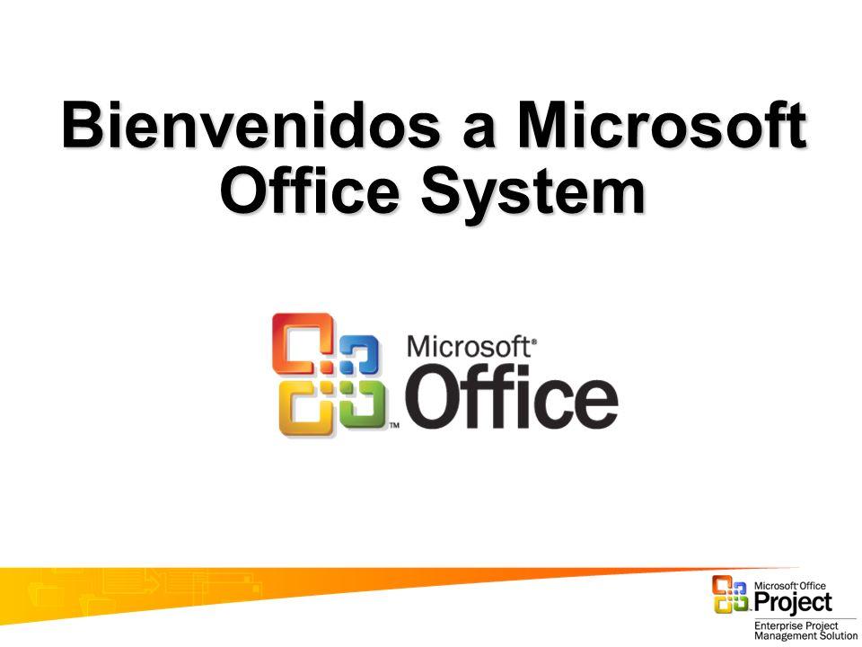 Bienvenidos a Microsoft Office System