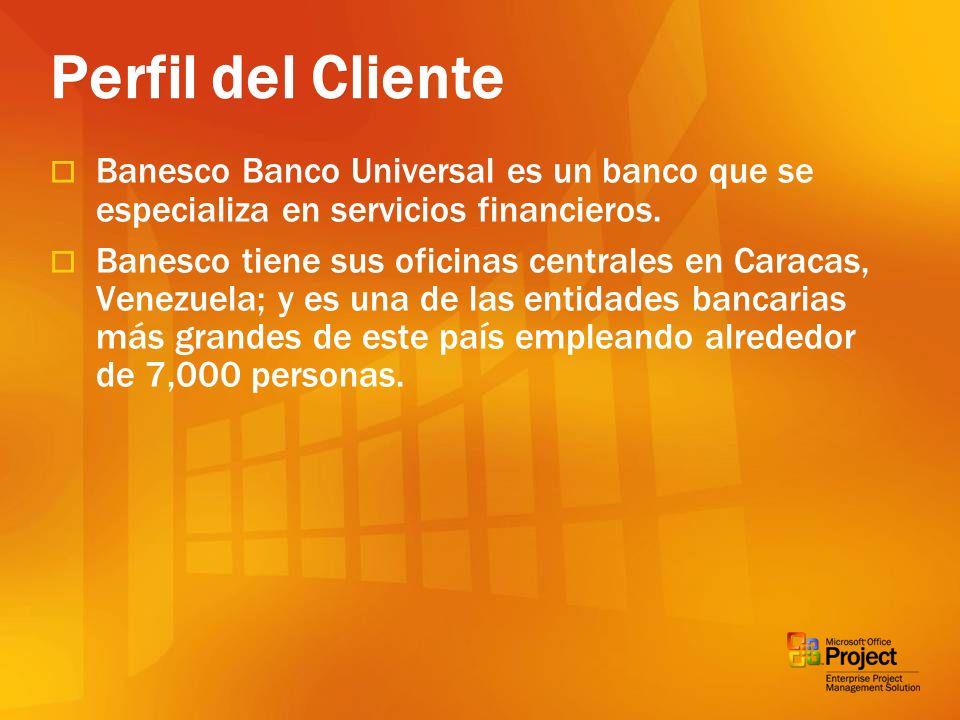 Banesco Banco Universal es un banco que se especializa en servicios financieros. Banesco tiene sus oficinas centrales en Caracas, Venezuela; y es una