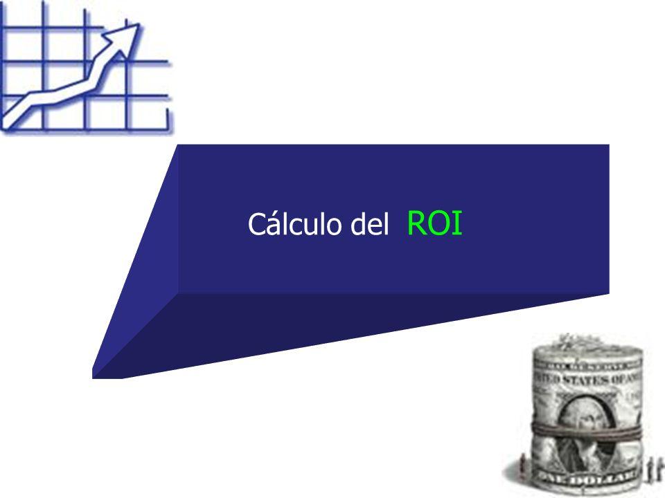 Cálculo del ROI