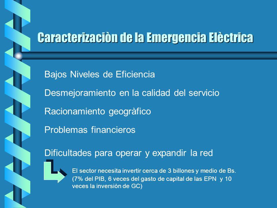 Análisis de la Ley Orgánica de Servicio Eléctrico Nacional (LOSEN) Oficina de Asesorìa Econòmica y Financiera del Congreso, 1999. Leonardo Vera