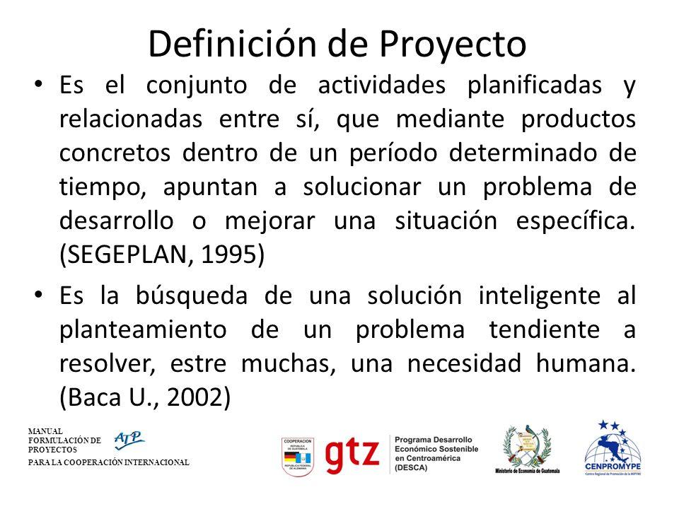 MANUAL FORMULACIÓN DE PROYECTOS PARA LA COOPERACIÓN INTERNACIONAL PRODUCTIVOS INFRAESTRUCTURA SERVICIOS SOCIALES CATEGORIAS DE PROYECTOS COOPERACION MANUAL FORMULACIÓN DE PROYECTOS PARA LA COOPERACIÓN INTERNACIONAL