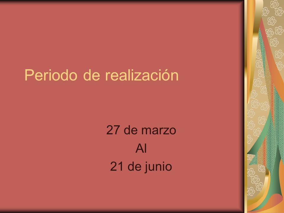DIAS DE VISTA AL CENTRO 07 DE ABRIL 09 DE MAYO 23 DE MAYO 07 DE JUNIO