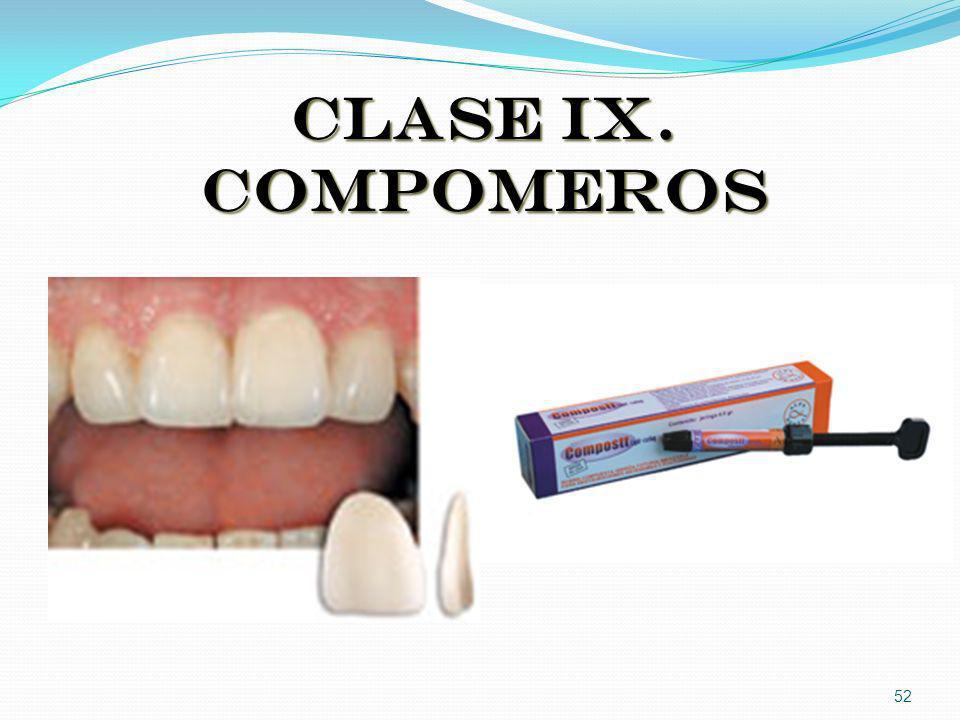 CLASE IX. COMPOMEROS 52