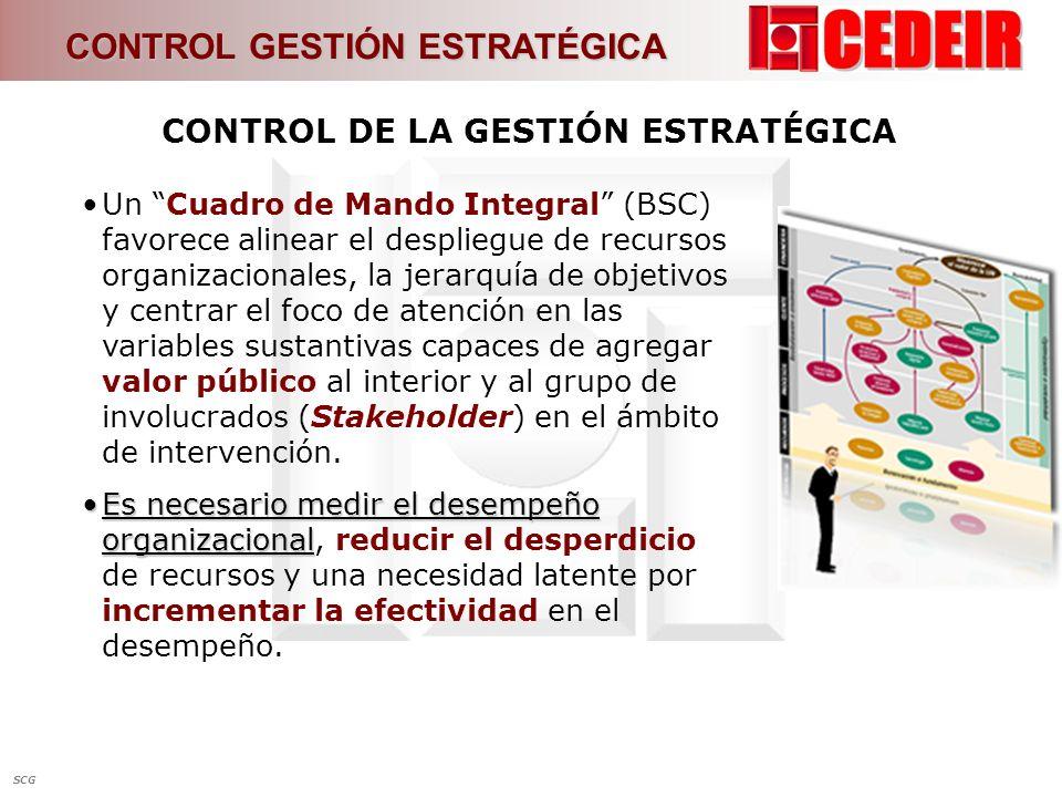 Un Cuadro de Mando Integral (BSC) favorece alinear el despliegue de recursos organizacionales, la jerarquía de objetivos y centrar el foco de atención