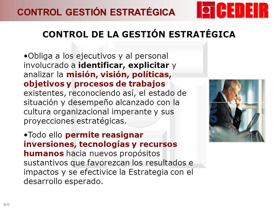 Control de la gestión estratégica de las EFS Análisis interpretativo de la investigación Control de la gestión estratégica de las EFS 3.