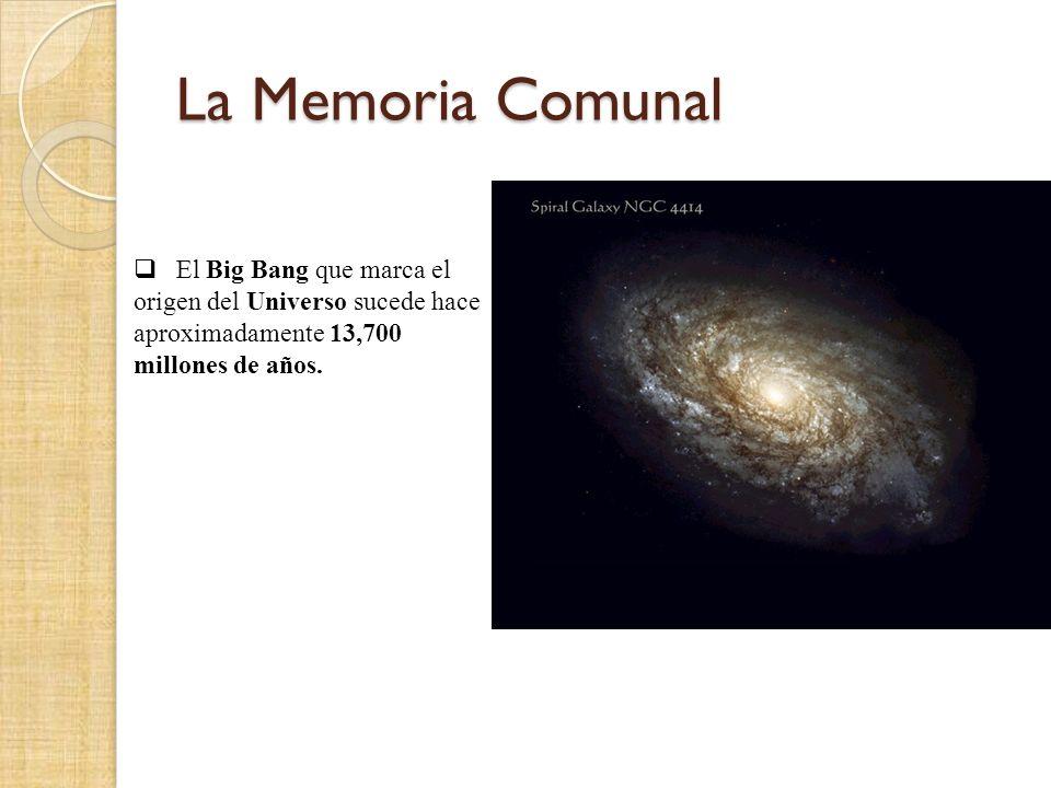 El Big Bang que marca el origen del Universo sucede hace aproximadamente 13,700 millones de años.