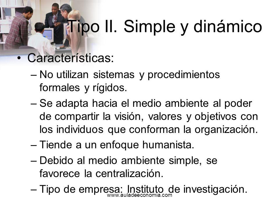 www.auladeeconomia.com Tipo III.