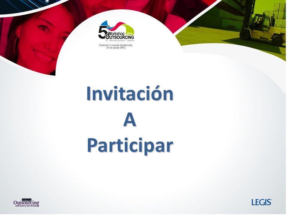 Invitación A Participar