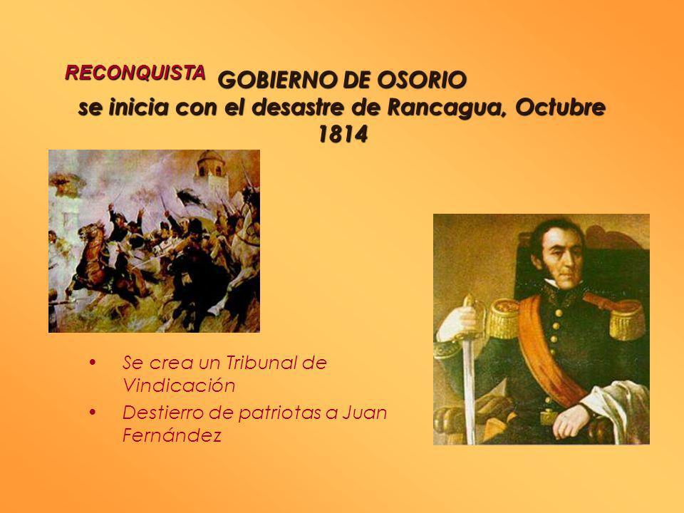 CAMPAÑAMILITAR DE1814 CAMPAÑA MILITAR DE 18141814 PATRIA VIEJA En 1814 llega Gabino Gaínza al mando de una nueva fuerza española. Batallas de El Quilo