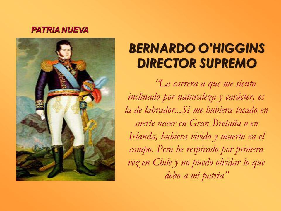 Después de la Batalla de Chacabuco: Entrada triunfal del Ejército Libertador en Santiago Marcó del Pont es apresado y San Bruno fusilado El Cabildo no