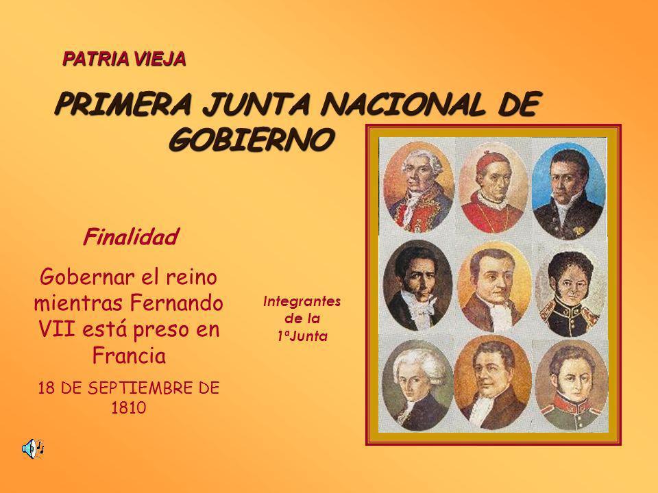 ETAPAS PATRIA NUEVA 1817 - 1823 RECONQUISTA 1814 - 1817 PATRIA VIEJA 1810 - 1814