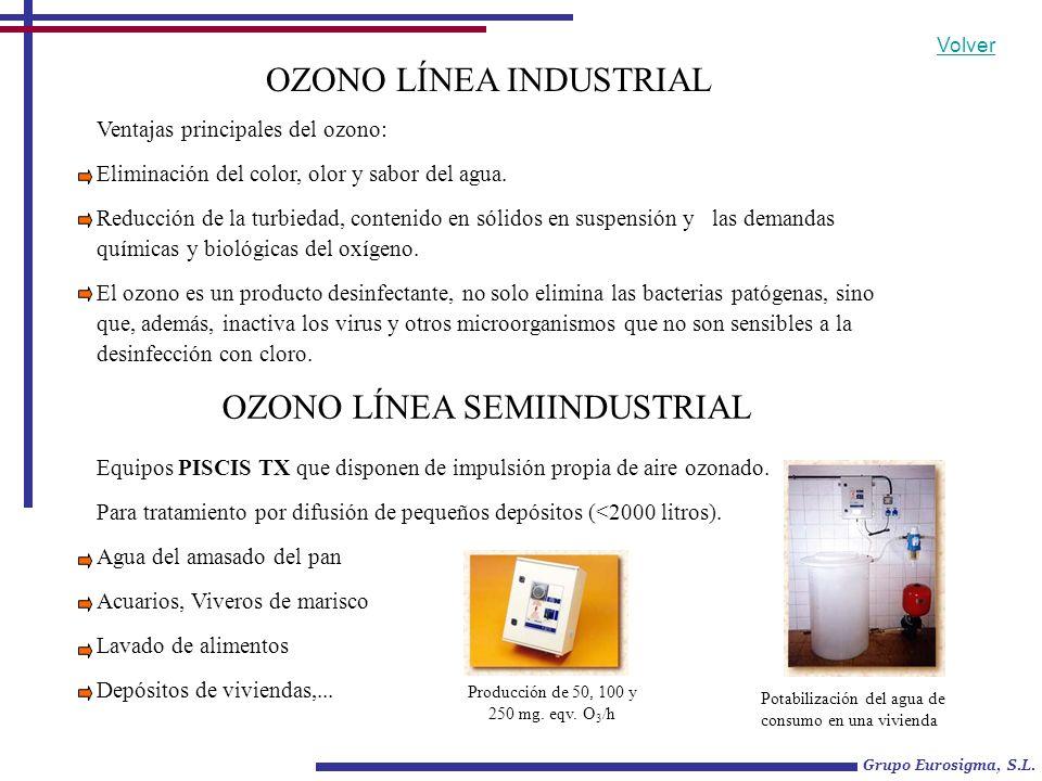 Pequeña piscina particular OZONO LÍNEA INDUSTRIAL La gama NEPTUNO está concebida para efectuar una ozonización bajo presión, en circuito cerrado a un depósito de contacto, mediante un eyector venturi.