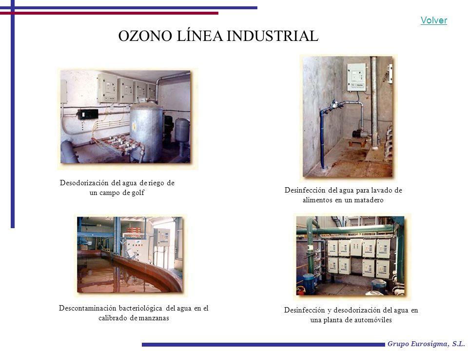 OZONO LÍNEA INDUSTRIAL Generador de bajan flujo de ozono APLICACIONES: 1.- AGUA DE REFRIGERACION.