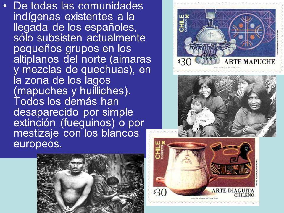 Se pueden distinguir los siguientes pueblos: Tribus agricultoras zona norte: Atacameños y Diaguitas.