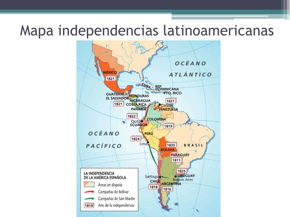 EL PROCESO DE EMANCIPACIÒN NACIONAL 1810 - 1823 La independencia de Chile corresponde al proceso histórico que permitió la emancipación de Chile del Imperio español, acabando con el período colonial y dando inicio a la conformación de una república independiente.