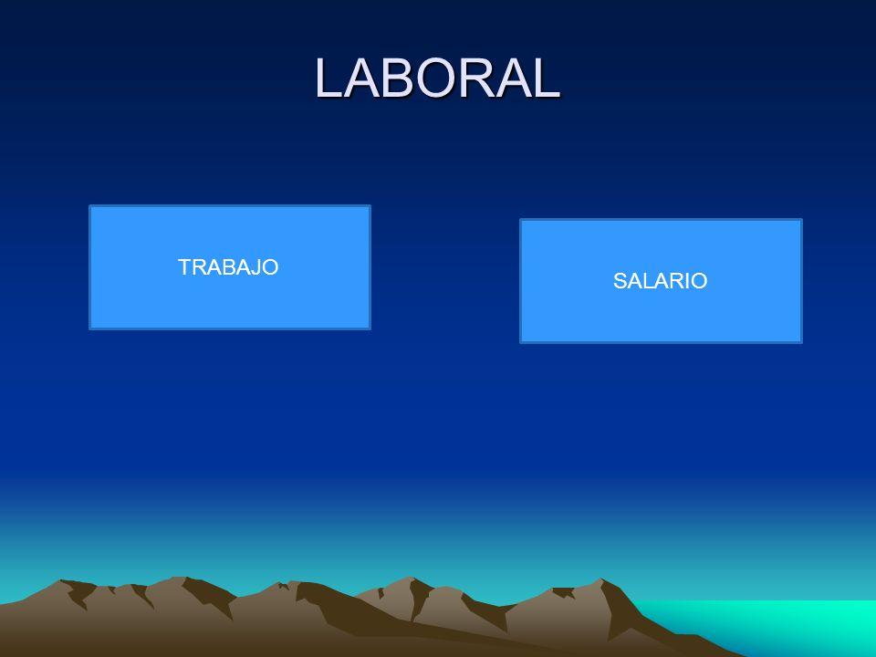 LABORAL TRABAJO SALARIO