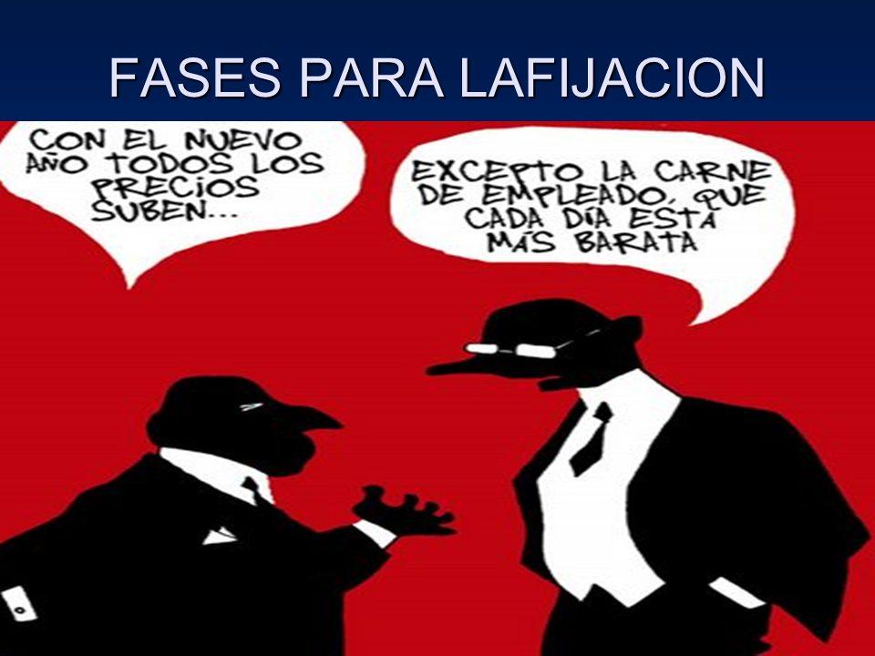 FASES PARA LAFIJACION