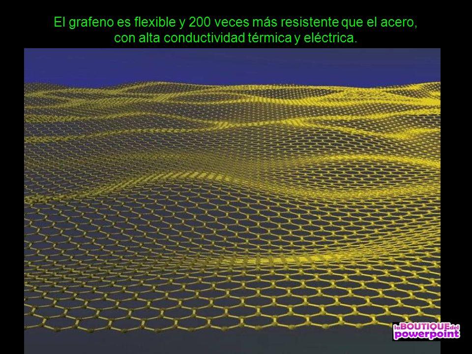 El grafeno es un material compuesto por átomos de carbono densamente empaquetados en una red cristalina con forma de panal de abejas (hexagonal) y de
