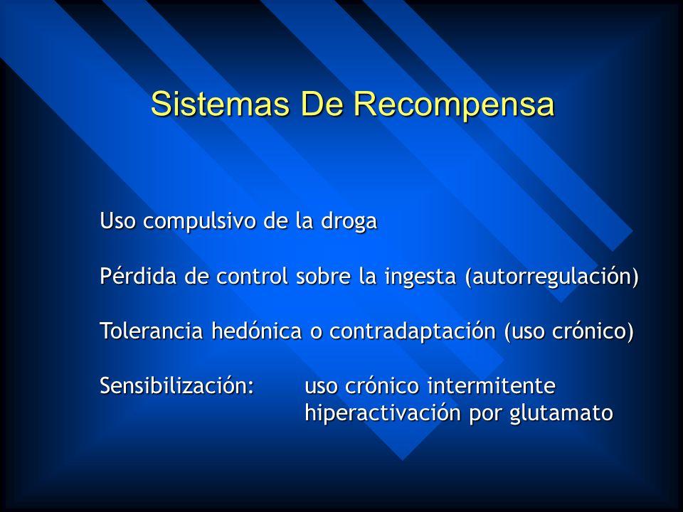 Similaridades en potencia adictiva de las diferentes presentaciones de las drogas Adicción Y Abstinencia Jan K Melichar, Mark RC Daglish and David J N