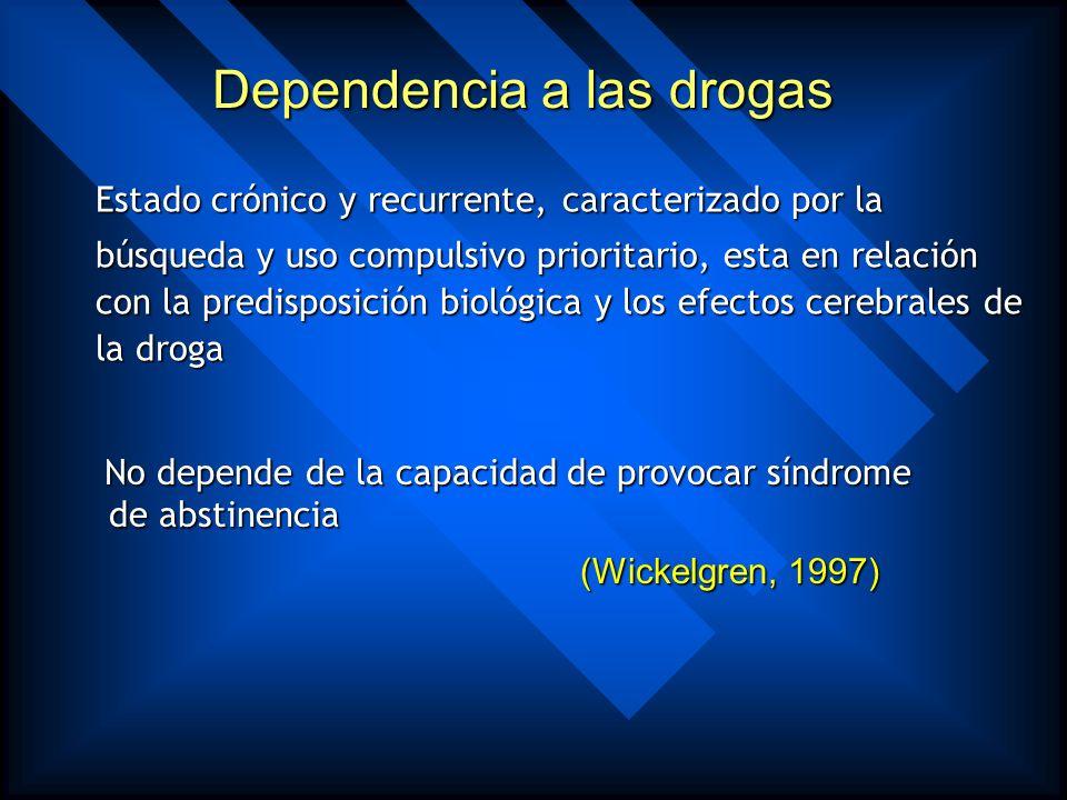ADICCION ES EL ANSIA VEHEMENTE, BUSQUEDA ACTIVA Y USO COMPULSIVO E INCONTROLABLE DE DROGAS PARA PROPOSITOS NO MEDICOS, A PESAR DE LAS CONSECUENCIAS NE