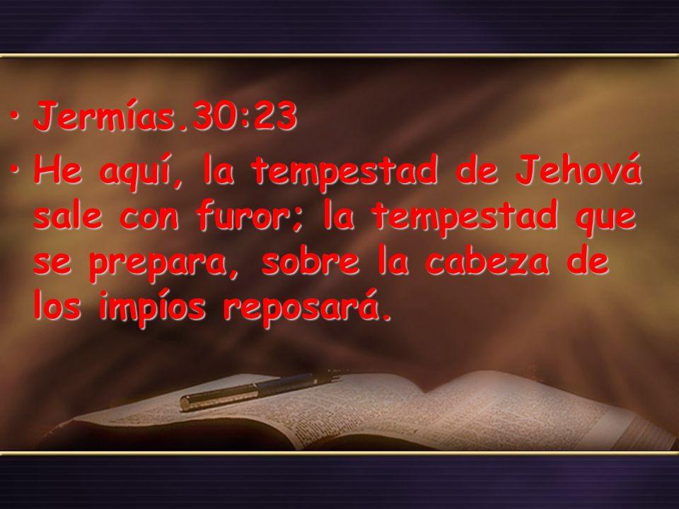 Jeremías.30:24Jeremías.