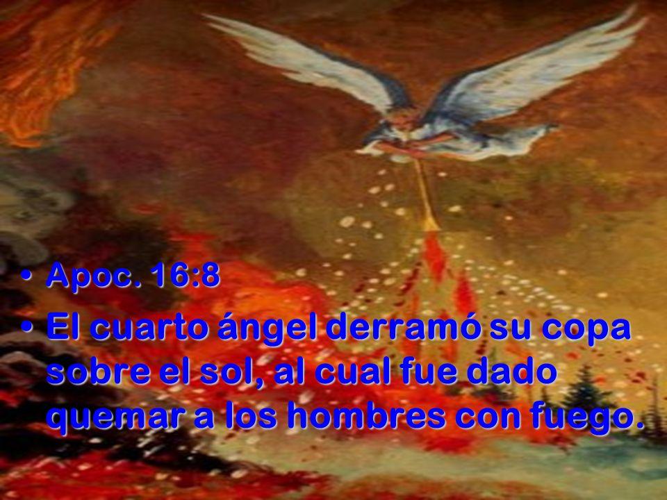 14:9 Y el tercer ángel los siguió, diciendo a gran voz: Si alguno adora a la bestia y a su imagen, y recibe la marca en su frente o en su mano, 14:10 él también beberá del vino de la ira de Dios, que ha sido vaciado puro en el cáliz de su ira; y será atormentado con fuego y azufre delante de los santos ángeles y del Cordero; 14:10 él también beberá del vino de la ira de Dios, que ha sido vaciado puro en el cáliz de su ira; y será atormentado con fuego y azufre delante de los santos ángeles y del Cordero;