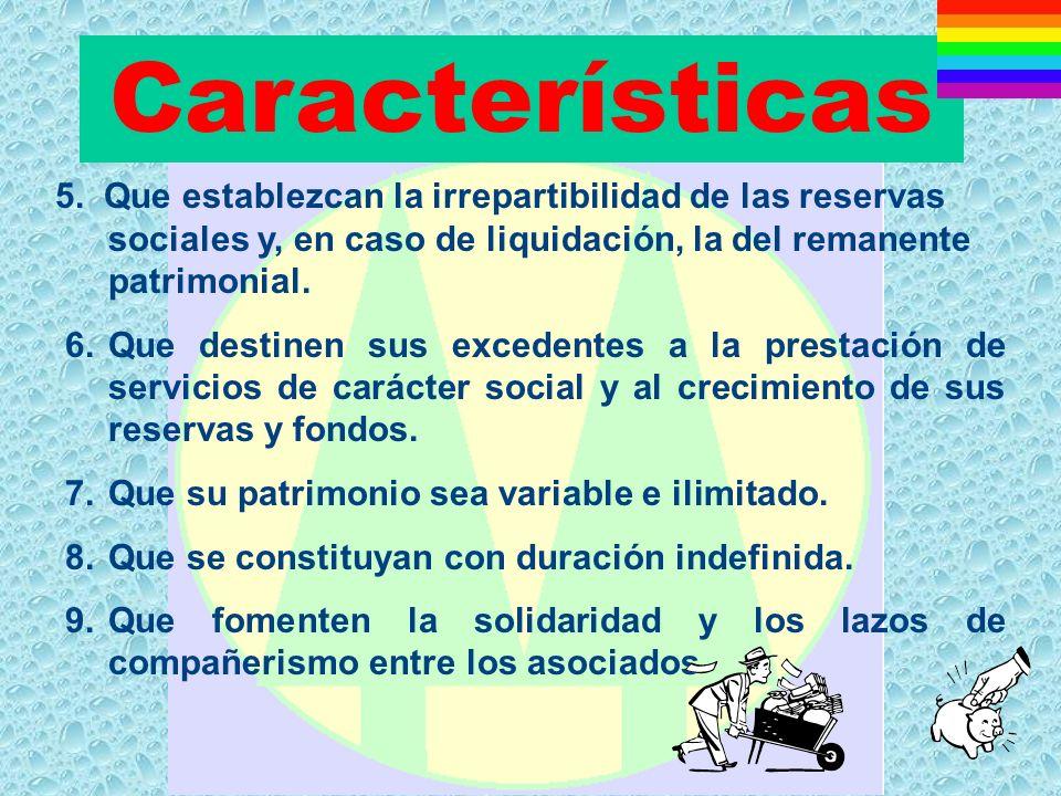 Características 5.