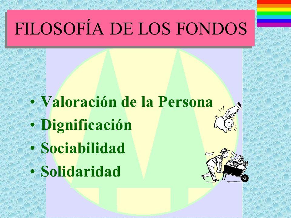 LOS FONDOS Y SUS RELACIONES CON EL ESTADO Deben remitir sus balance y estados financieros a la Entidad competente.