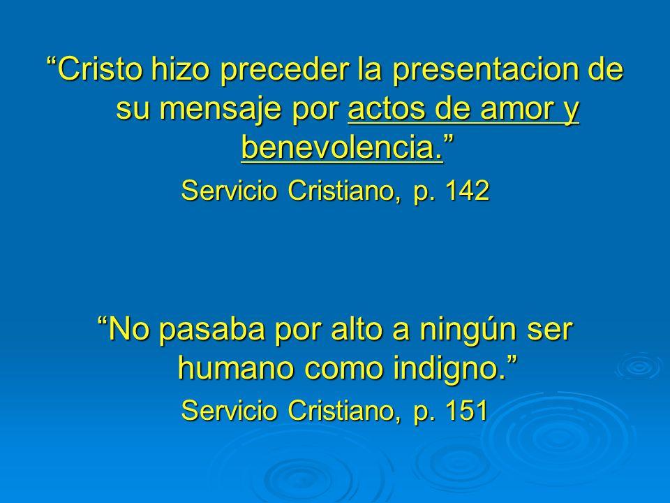 Método de Testificación de Jesús Socializó Simpatizó Sirvió Salvó