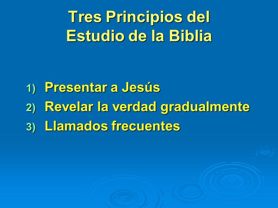 1. Trabajo personal 2. Grupos pequeños 3. Evangelismo público Si seguimos el ejemplo de Cristo en hacer el bien, los corazones se nos abrirán como se