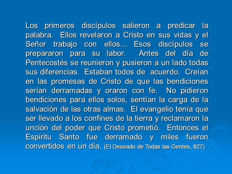 La comisión del Salvador a los discípulos incluía a todos los creyentes. Incluye a todo creyente en Cristo en el tiempo del fin. Es un error fatal sup