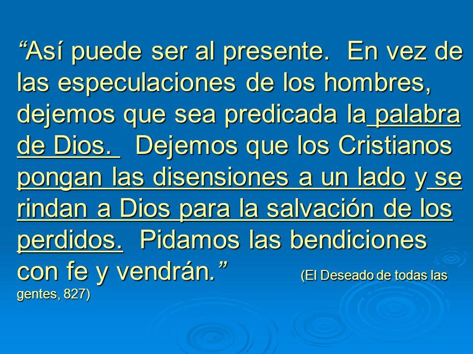 Los primeros discípulos salieron a predicar la palabra. Ellos revelaron a Cristo en sus vidas y el Señor trabajo con ellos... Esos discípulos se prepa