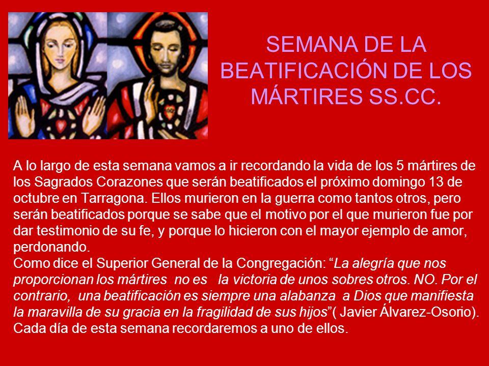 LUNES 7: EL PADRE TEÓFILO FERNÁNDEZ DE LEGARIA Hoy recordamos al P.