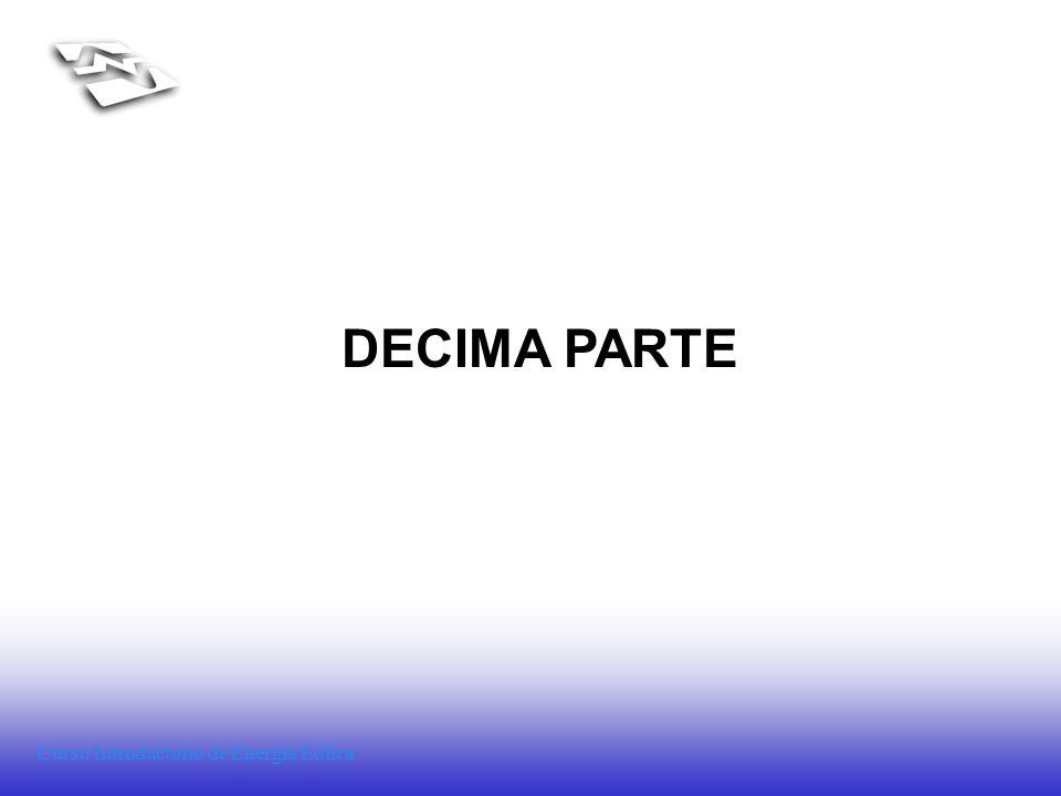 Curso Introductorio de Energía Eólica DECIMA PARTE
