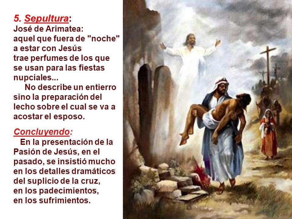 Ahora contemplamos a Jesús en la cruz, pobre, débil, que se entrega totalmente al hombre. -