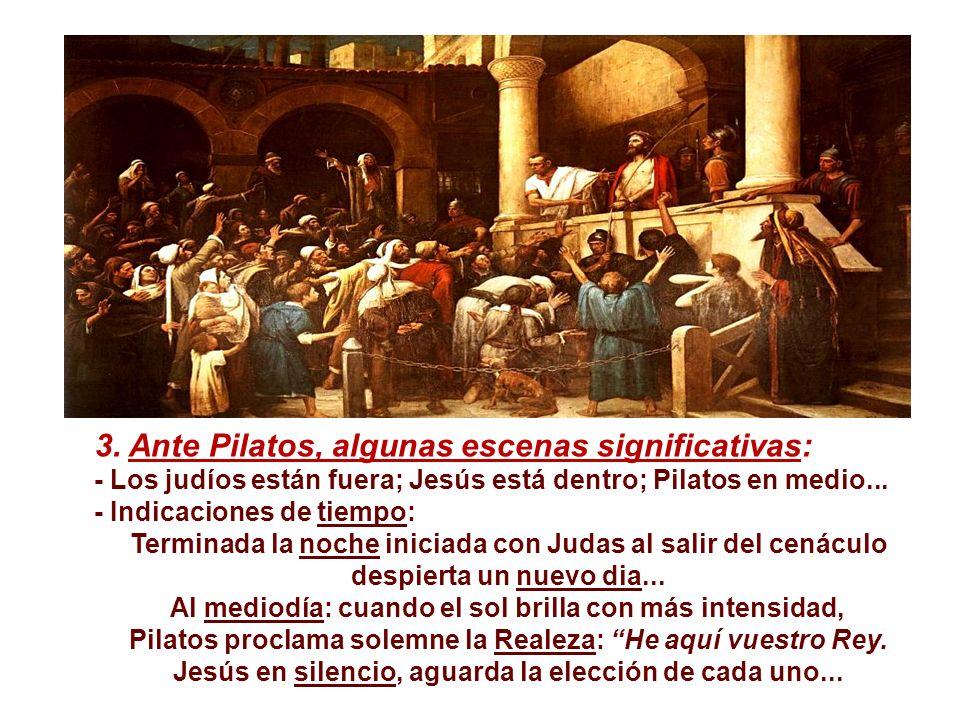 2. El viejo Anás se encarga del proceso de Jesús. Él controlaba toda la actividad del templo. Personifica a quien ama las tinieblas y no soporta la